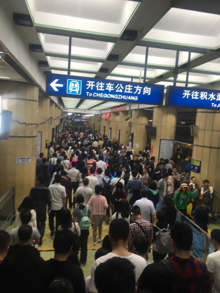 Trung tâm tiếng Trung - Các câu khi đi tàu điện ngầm